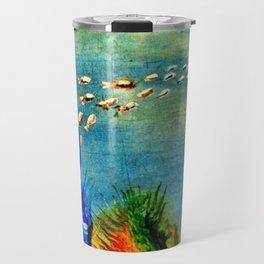 Fish Swarm Travel Mug