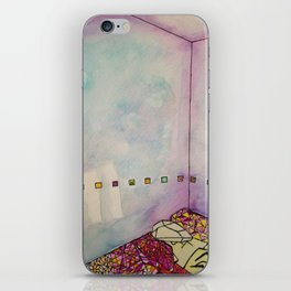 Cuboid Room iPhone Skin