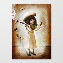 The Little Sharpshooter Canvas Print