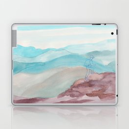 mountain climbing Laptop & iPad Skin