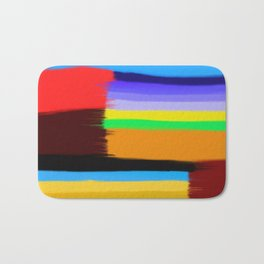 Abstract Painting No 432 By Chad Paschke Bath Mat