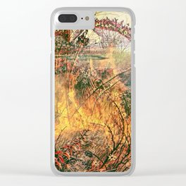 Firestarter Clear iPhone Case