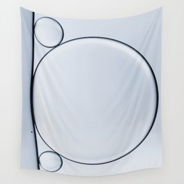 oil and water abstract II Wall Tapestry