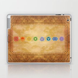 Chakras Kali | Beyond the time  Laptop & iPad Skin