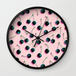 Pop Cherries Wall Clock
