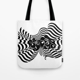 Psycho wave clear Tote Bag