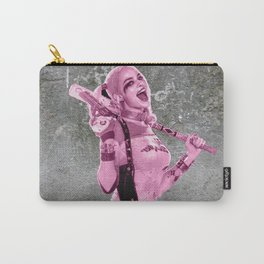 Suicide Harley on the wall Carry-All Pouch