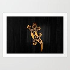 Salamandra Art Print