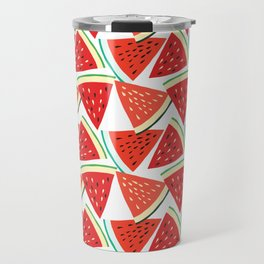 Sliced Watermelon Travel Mug