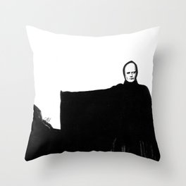 Nothing Escapes Me, No One Escapes Me Throw Pillow
