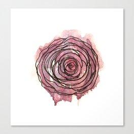 english pen rose Canvas Print