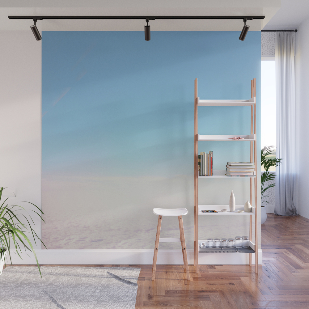 Cloud Carpet Wall Mural by Cassiabeck WMP7934353