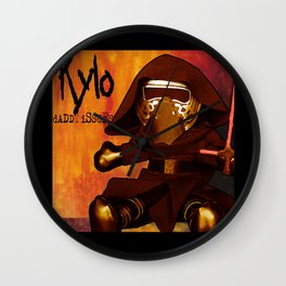 Kylo Daddy Issues Wall Clock