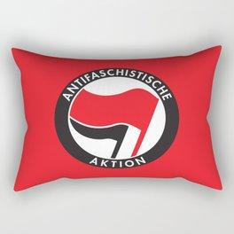 Antifaschistische Aktion Rectangular Pillow