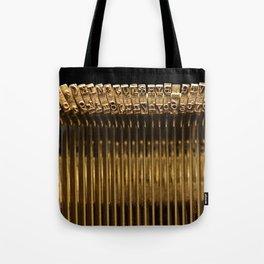 Remington Type Bars Tote Bag