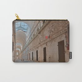Abandoned Prison Corridor Carry-All Pouch