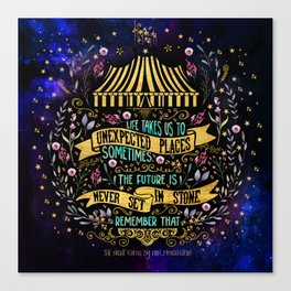 The Night Circus- Unexpected Places Canvas Print