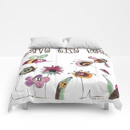Save the Bees Comforters
