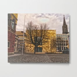 Architecture in Ulm Metal Print