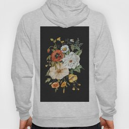 Wildflower Bouquet on Charcoal Hoody