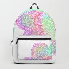 Muted pastel mandala Backpack