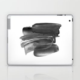 Lipstick Smudge black and white abstract painting poster design home wall art bedroom decor Laptop & iPad Skin