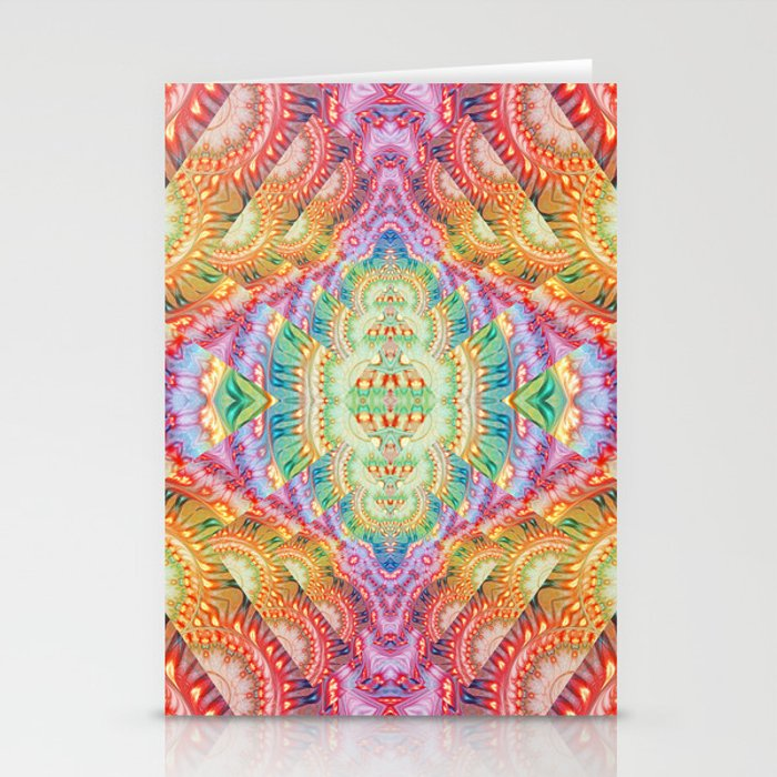 Psychedelic Journey GOA 1 Stationery Cards