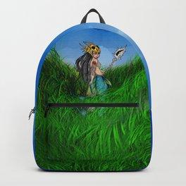 Warrior Mermaid Backpack