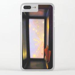 double-decker window Clear iPhone Case