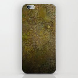 Chocolate and Lime and Heavy Black iPhone Skin
