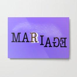 Marriage Metal Print
