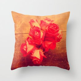 they call me the wild rose Throw Pillow
