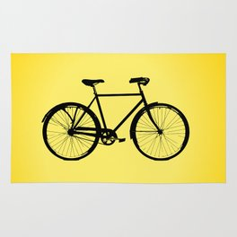 I want to ride my bicycle Rug