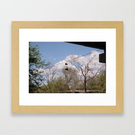 In Letterhead Framed Art Print