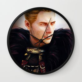 Commander Cullen Wall Clock