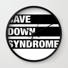 down syndrome Wall Clock
