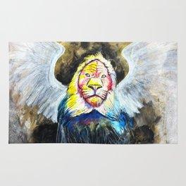 Winged Lion Rug