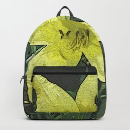 Yellow Lily DPGPA151014-14 Backpack
