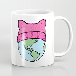 It's a pussy world Coffee Mug