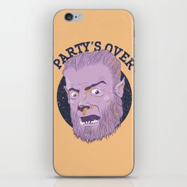 The Wolfman Kindly Requests (v3) iPhone Skin