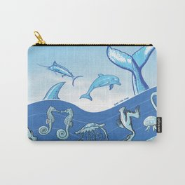 Ocean's Symphony Carry-All Pouch