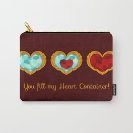 HEART CONTAINER Carry-All Pouch