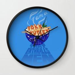 Pork Cutlet Bowl Fatale Wall Clock