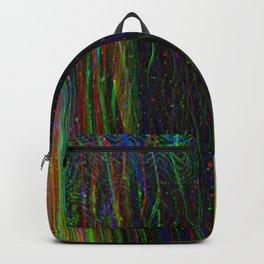 Photo glitch. Television signal fail Backpack