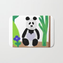 It's a Panda's World of Love Bath Mat