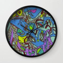 Scrapper Wall Clock
