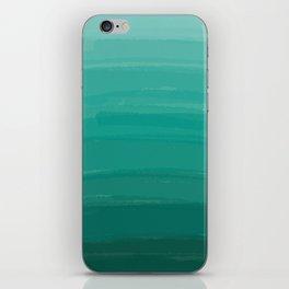 Sea Foam Dream Ombre iPhone Skin
