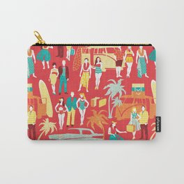 Hawaii elegance in action Carry-All Pouch