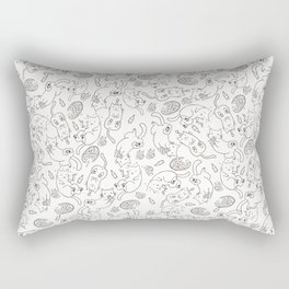 Cat Party Rectangular Pillow