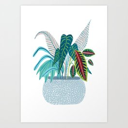 Jungle in a Pot Art Print